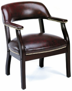 Boss Traditional Captain's Guest Chair [B9540]
