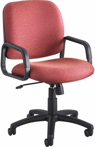 Cava® Urth™ Task Chair High Back Burgundy [7045BG]