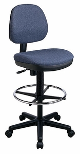 Work Smart Contemporary Drafting Chair with Flex Back [DC800]