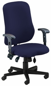 Mayline Contoured Adjustable Ergonomic Office Chair [4019AG]