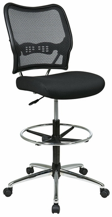 office star drafting stool mesh back 13-37p500d|office chairs
