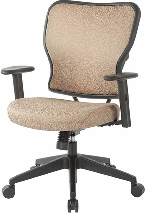 Deluxe Sand Fabric 2 to 1 Mechanical Height Chair [213-J77N1W]