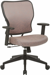Deluxe Salmon Fabric 2 to 1 Height Adjustable Chair [213-J88N1W]