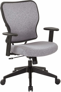 Deluxe Steel Fabric 2 to 1 Height Adjustable Chair [213-J99N1W]