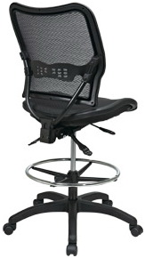 ... Space Seating Deluxe Full Mesh Drafting Chair [13-77N30D]  sc 1 st  Office Chairs Unlimited & Deluxe Full Mesh Drafting Chair by Office Star [13-77N30D] Free Shipping