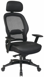 Space Seating Deluxe Matrex Back Mesh Office Chair [25004]
