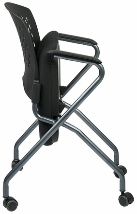 pro line ii deluxe padded folding chair - Padded Folding Chairs