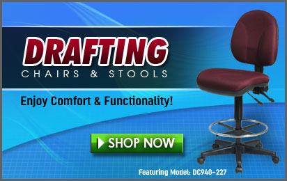Ergonomic Drafting Chair ...
