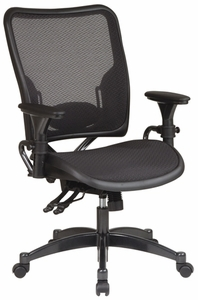 Space Seating Dual Function Ergonomic Mesh AirGrid Chair [6236]