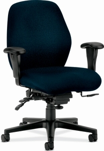 mid back hon task chair with lumbar support [7828] free shipping!
