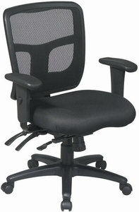 Pro Line II Ergonomic Multi-Function Mesh Back Office Chair [92893-30]