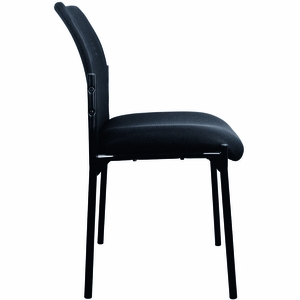 Essentials by OFM Mesh Upholstered Stacking Armless Side Chair [ESS-8000]