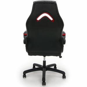 Essentials by OFM Racing Style Red Mesh Leather Gaming Chair [ESS-3086-RED]