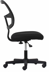 Essentials Swivel Mesh Armless Task Chair, Black [ESS-3020]
