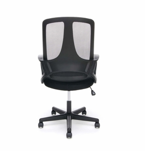 Essentials Swivel Mesh Task Chair with Arms, Black [ESS-3040]