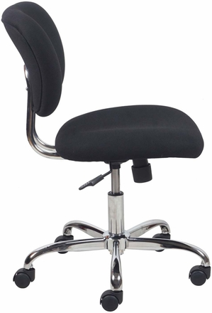Essentials Swivel Upholstered Armless Task Chair [ESS-3090]