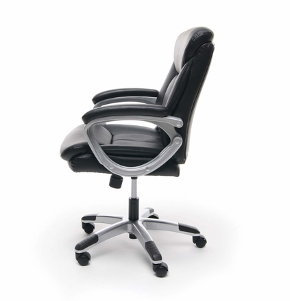 Essentials Leather Executive Office Chair with Arms [ESS-6020]