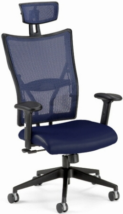 Executive Mesh Chair with Headrest [590]
