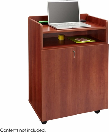 Executive Presentation Stand Lectern Cherry 8919cy