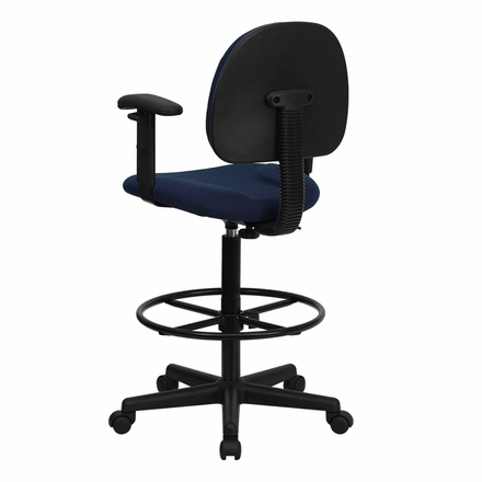Black Drafting Stool Bt 659 Blk Gg Office Chairs Unlimited