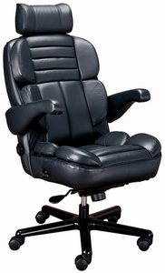 ERA Galaxy Big and Tall Leather Office Chair by ERA [GLXY]