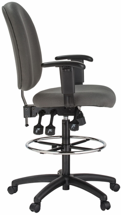 Harwick Ergonomic Adjustable Drafting Chair [6058C-D]  sc 1 st  Office Chairs Unlimited & Harwick Ergonomic Adjustable Drafting Chair [6058C-D] Free Shipping
