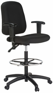 Harwick Counter Height Bank Teller Chair 100ke Free Shipping