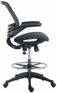Harwick Evolve™ Mesh Big and Tall Drafting Chair - Dark Knight Edition [2250D-DRK]