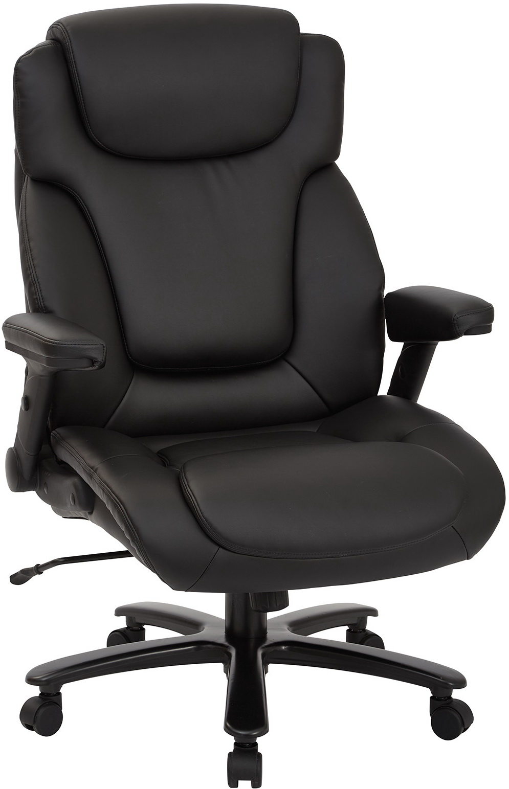 Enjoyable Pro Line Ii High Back Bonded Leather Big Tall Executive Chair 39200 Home Interior And Landscaping Palasignezvosmurscom