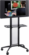 Impromptu® Flat Panel TV Cart Black [8926BL]