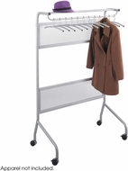 Impromptu� Garment Rack 12 Coat Hangers Gray [4601GR]