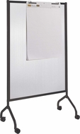 "Impromptu� Screen Polycarbonate 42 x 72"" Black [8510BL]"