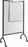 "Impromptu� Screen Whiteboard 42 x 72"" Black [8511BL]"