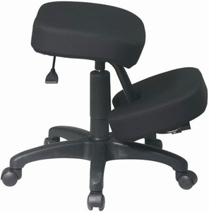 Work Smart Kneeling Chair with 5-Star Base [KCM1425]