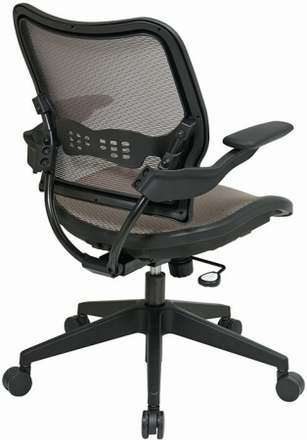 Space Seating Latte Air Grid Mesh Chair [13-88N1P3]