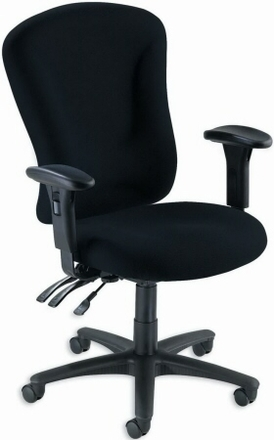 lorell accord upholstered ergonomic office chair 66153 free shipping