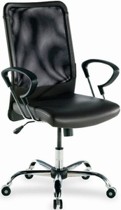 Lorell Contemporary Mesh Back Office Chair [86203]