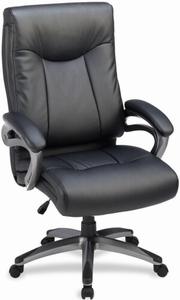 Lorell High Back Faux Leather Home Office Chair [69516]