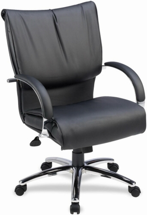 Lorell Plush Office Executive Chair 69515 Free Shipping