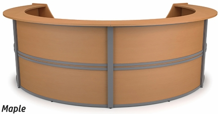 Marque 4 Unit Curved Reception Station 55294