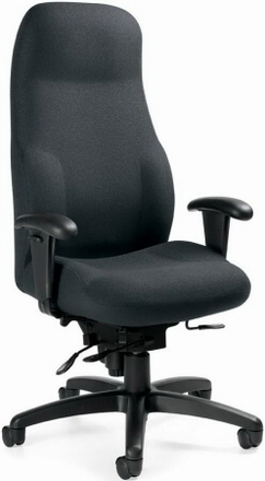 office chairs heavy duty|padded office chair