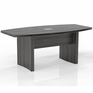 Mayline Aberdeen 6' Conference Table, Boat Gray Steel [ACTB6LGS]