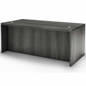 "Mayline Aberdeen 60"" Rectangular Desk Gray Steel [ARD6030LGS]"