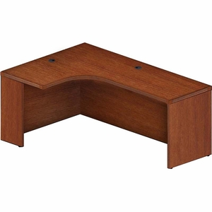 Mayline aberdeen 72 left extended corner table cherry aec72llcr watchthetrailerfo