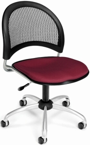 Mesh Back Crescent Moon Task Chair [336]