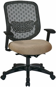 Space Seating Mesh Back Self Adjusting Office Chair [829-R2C728P]