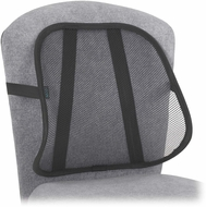 Mesh Backrest Black Set of 5 [7153BL]