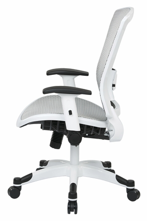 office star mesh office chair flip up arms 317w-w11c1f2w