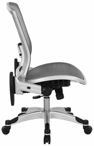 Space Seating Deluxe Mesh Task Chair with Flip Up Arms [317-66C61F6]
