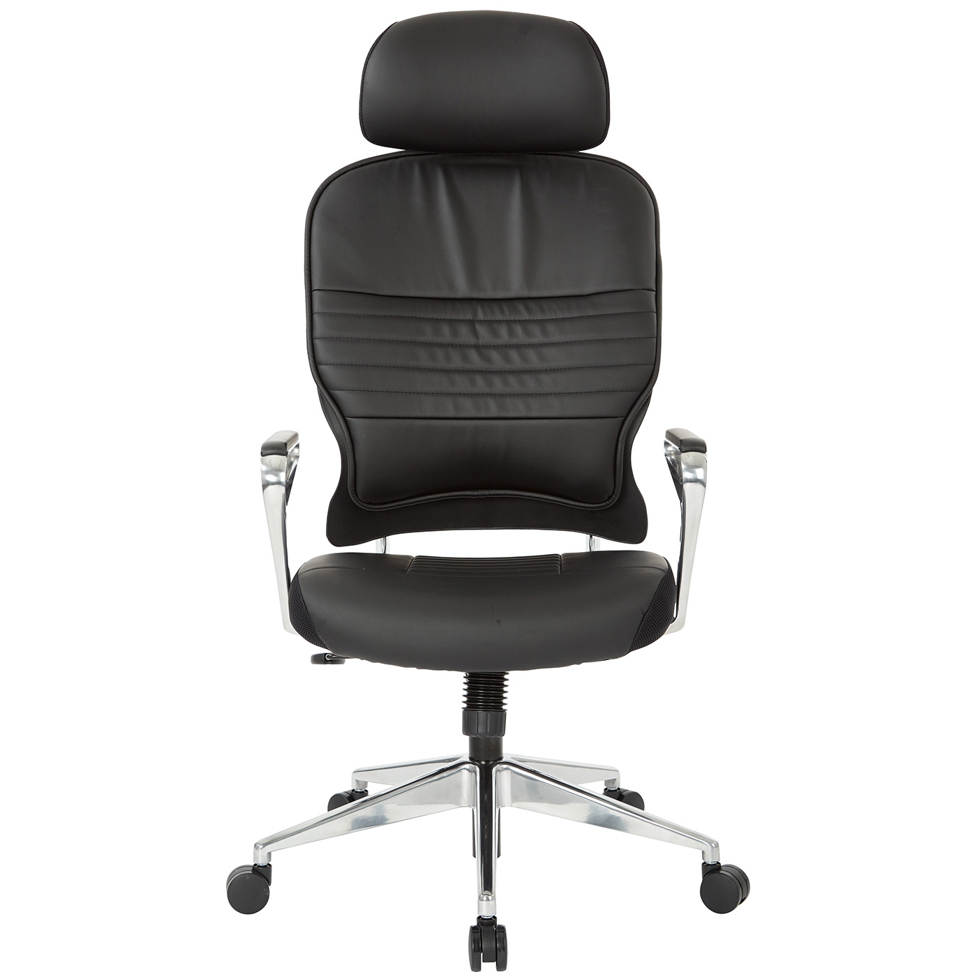 Remarkable Office Star Bonded Leather Managers Chair With Headrest In Black 32 E33P91A7Hl Theyellowbook Wood Chair Design Ideas Theyellowbookinfo